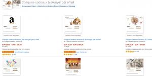 Chèque-cadeaux amazon.fr - 10 euros offert