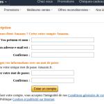 Créer facilement un compte sur Amazon