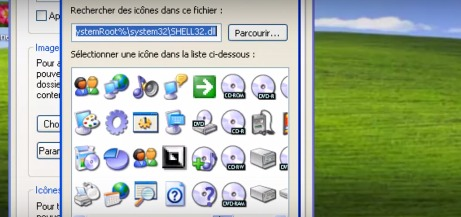 Comment changer l'icone d'un dossier Windows