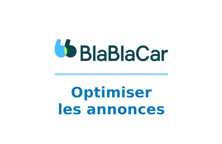 Optimizando su anuncio en Blablacar