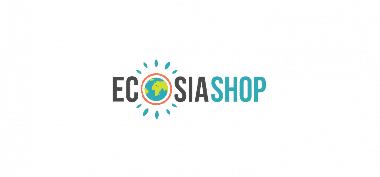 Logotipo de Ecosia Shop
