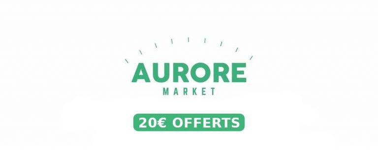 Aurore Market - Produtos orgânicos baratos - Código promocional