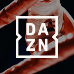 Logo de Dazn, la plateforme de streaming sportif