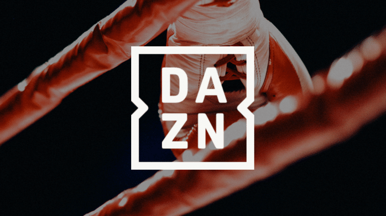 Logo of Dazn, the sports streaming platform